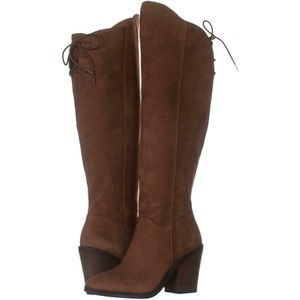NEW! Lucky Brand Pembe Knee-high boots, orig. $229